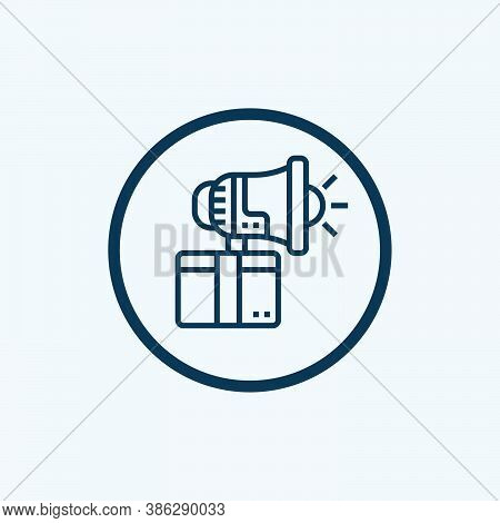 Promotion Icon Isolated On White Background From Discount Collection. Promotion Icon Trendy And Mode