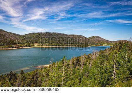 Navajo Lake Is In The Dixie National Forest Near Cedar Breaks National Monument And Cedar City In So
