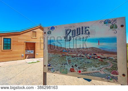 Bodie State Historic Park, California, United States Of America - August 12, 2016: Bodie Ghost Town
