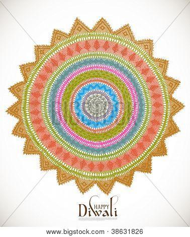 Diwali Kolam Patterns poster