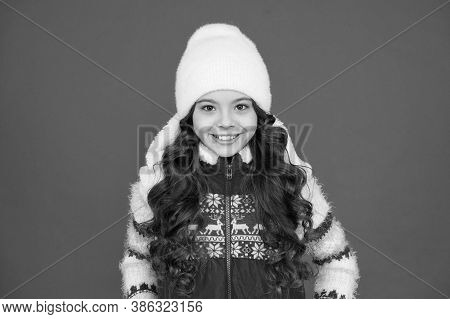 Winter Fashion. Small Girl Long Curly Hair. Winter Holidays Ideas. Winter Activity For Kids. Happy C
