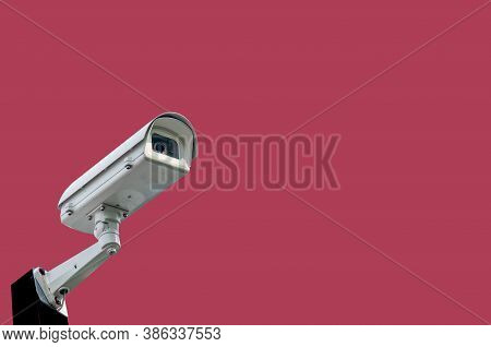 Multi-angle Cctv System Background Blast, Cipping Path Technology