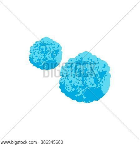 Microscopic Unicellular Bacteria, Germ Or Virus. Allergen, Epidemic Pathogenic Microorganism, Virus,