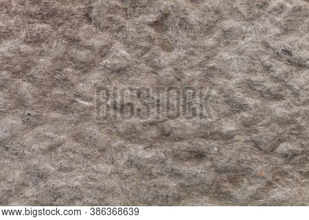 Gray Jagged Stone Wall. Background For Designer