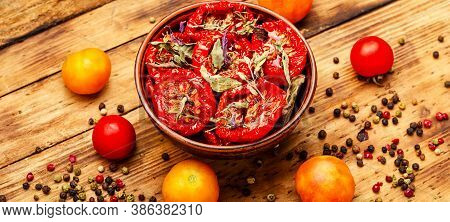 Bowl Of Sun Dried Tomatoes