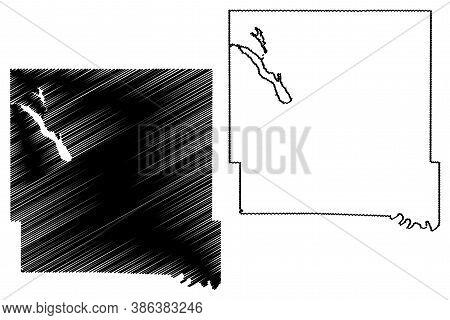 Polk County, Iowa (u.s. County, United States Of America, Usa, U.s., Us) Map Vector Illustration, Sc