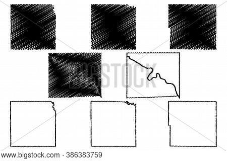 Taylor, Washington, Warren And Van Buren County, Iowa (u.s. County, United States Of America, Usa, U