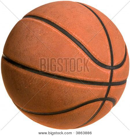 Old Basketball-Clipping Path