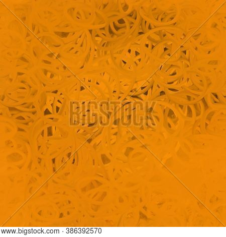 Abstract Seamless Pattern In Terracotta Color. Abstract Art Background.multicolored Bright Texture.