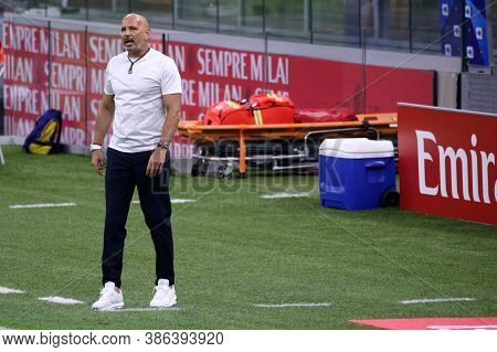 Milano, Italy. 21th September 2020. Italian Serie A. Sinisa Mihajlovic Head Coach Of Bologna Calcio