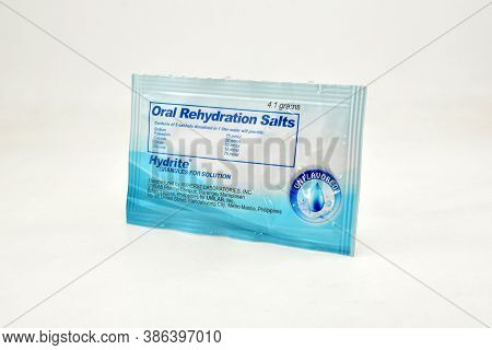 Manila, Ph - Sept 10 - Oral Rehydration Salts Hydrite On September 10, 2020 In Manila, Philippines.