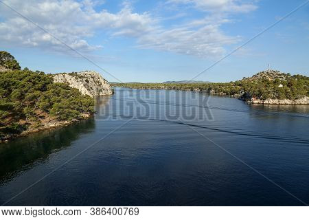 Channel Of St. Anthony Near Sibenik, Croatia