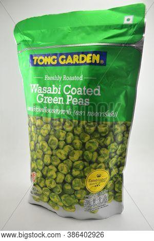Manila, Ph - Sept 10 - Toms Garden Wasabi Coated Green Peas On September 10, 2020 In Manila, Philipp