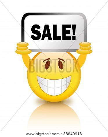 Sale emoticon