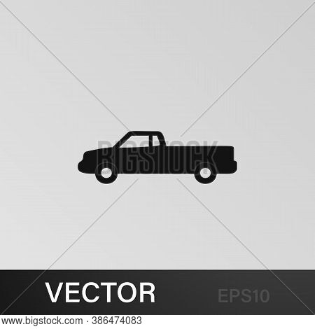 Pickup Icon. Element Of Car Type Icon. Premium Quality Graphic Design Icon. Signs And Symbols Collec