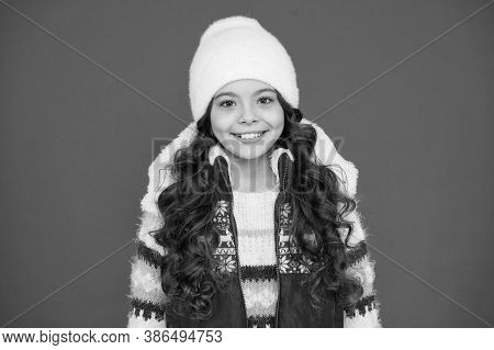 Kids Tend To Feel Cold More Than Adults. Great Features And Design. Winter Fashion. Small Girl Long