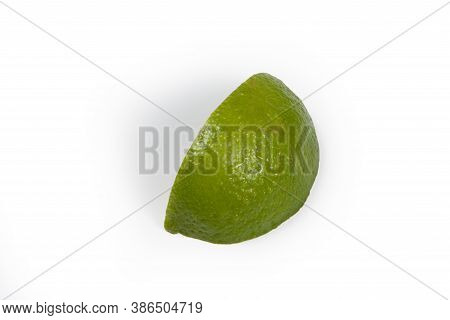 Lemon, Typical In Brazil In A White Background