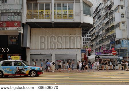 26 Aug 2020 During  The Covid 19 At Mong Kon Street