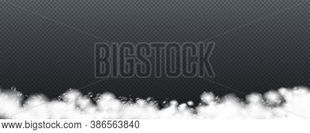 Soap Foam Isolated On Transparent Background, Set Of Bath Foam With Shampoo Bubbles And Soap, Gel Or