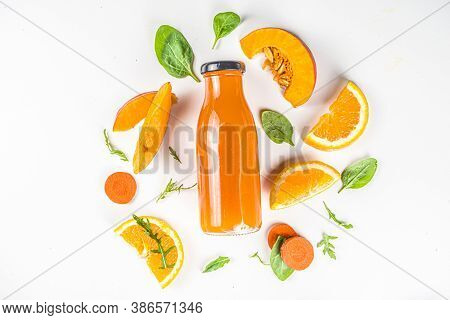 Orange Carrot Pumpkin Smoothie