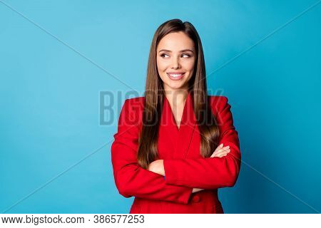 Close-up Portrait Of Her She Nice-looking Attractive Lovely Pretty Charming Cheerful Cheery Creative