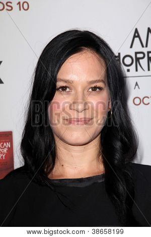 LOS ANGELES - OCT 13:  Franka Potente arrives at the