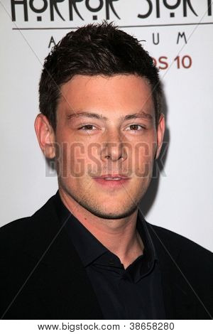 LOS ANGELES - OCT 13:  Cory Monteith arrives at the