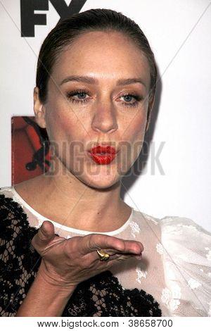 LOS ANGELES - OCT 13:  Chloe Sevigny arrives at the