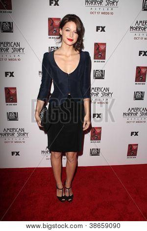 LOS ANGELES - OCT 13:  Melissa Benoist arrives at the