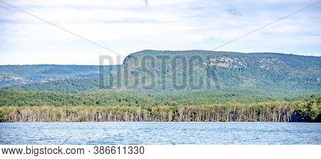 Lake James And Lake James State Park In North Carolina