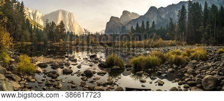 Early Morning At Yosemite National Park California