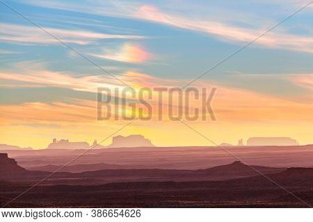 Monument Valley landscapes, Utah, USA