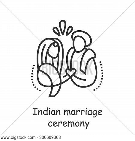 Indian Marriage Ceremony. Hindu Wedding Rites, Rituals. Arranged Marriage. Kanyadaan Ceremony. India