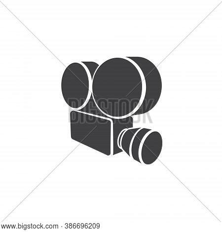 Cinema Logo - Film Movie Video Entertainment Retro Vintage Camera Vector Production Theatre Art Shop