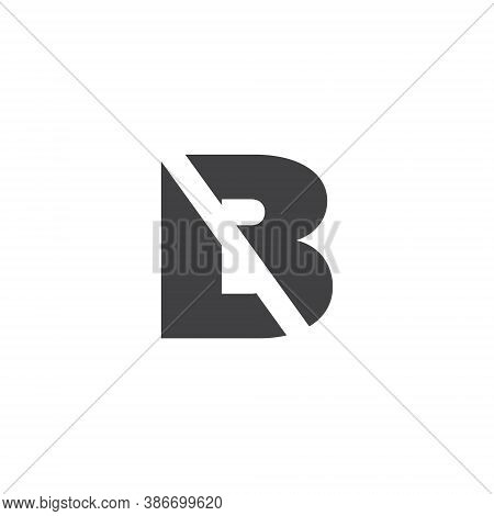 L B Letter Logo Lettermark Lb Monogram - Typeface Type Emblem Character Trademark