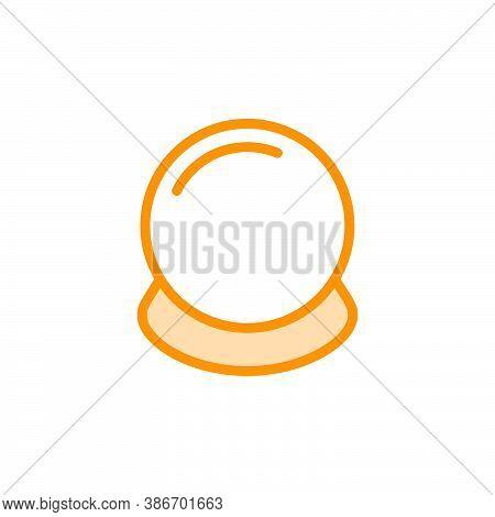 Illustration Vector Graphic Of Magic Ball Icon