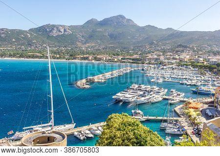 Port Of Calvi, North Of Corsica, France