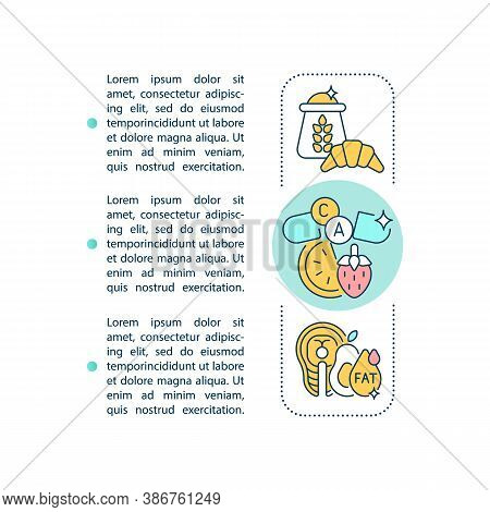 Nutrient Dense Food Concept Icon With Text. Multivitamins And Supplements. Healthy Eating. Ppt Page