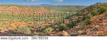 Grindstone Canyon In The Prescott National Forest Of Arizona. This Canyon Begins Near The Town Of Dr