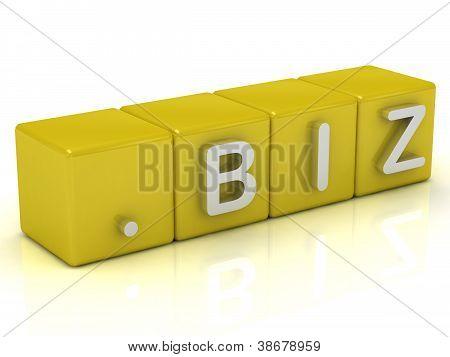 Inscription On The Cubes Of Gold: Dot Biz