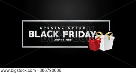 Graphic Design For Black Friday Sale Banner, Black Friday Poster, Black Friday Background