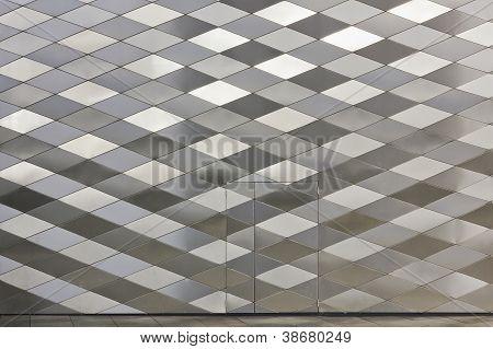 Diamond-shaped Panels Texture