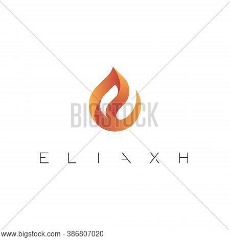 E Letter Lettermark Logo Monogram - Typeface Type Emblem Character Trademark
