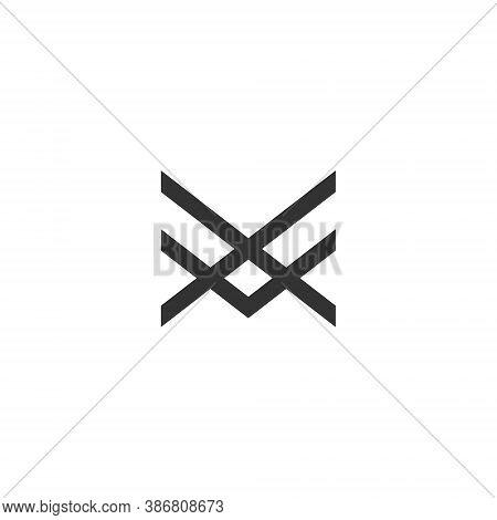 A F Letter Lettermark Logo Af Monogram - Typeface Type Emblem Character Trademark