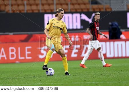 Milano, Italy. 24th September 2020. Uefa Europa League. Ulrik Saltnes Of Bodo/glimt. In Action   Dur