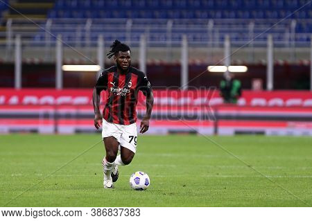 Milano, Italy. 24th September 2020. Uefa Europa League. Franck Kessie  Of Ac Milan   During The Uefa