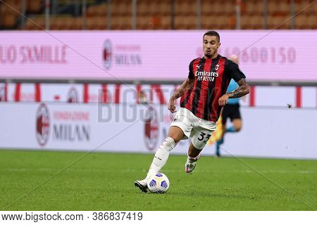 Milano, Italy. 24th September 2020. Uefa Europa League. Rade Krunic  Of Ac Milan   During The Uefa E