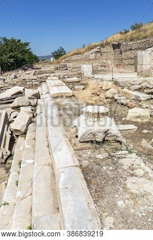 Ruins Of Ancient Macedonian Polis Heraclea Sintica, Bulgaria