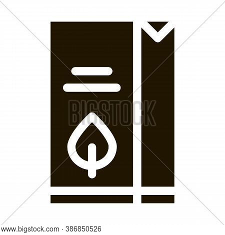 Flour Milk Juice Package Packaging Glyph Icon . Carton Open And Closed Packaging Pictogram. Parcel,