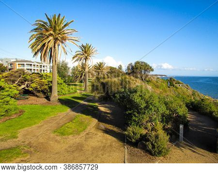 Sandringham Is One Of Melbourne's Affluent Suburbs By The Seaside. Its Wide Stretch Of White Sandy B